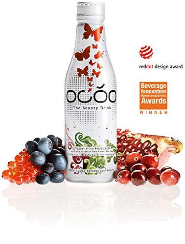 OCÓO - Der Beauty Drink, Erfrischungsgetränk, Flasche, umweltfreundliche Verpackung, 250 ml
