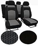 EJP Sitzbezüge für Citroen Jumpy 5-Sitze Super Qualität, Extra Langlebig im Design VIP-1