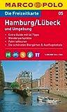 MARCO POLO Freizeitkarte Hamburg, Lübeck und Umgebung 1:100.000 (MARCO POLO Freizeitkarten) -