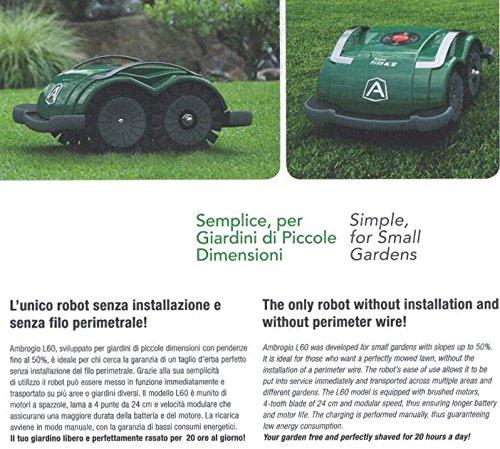 Ambrogio L60B Robot Lawn-Mower