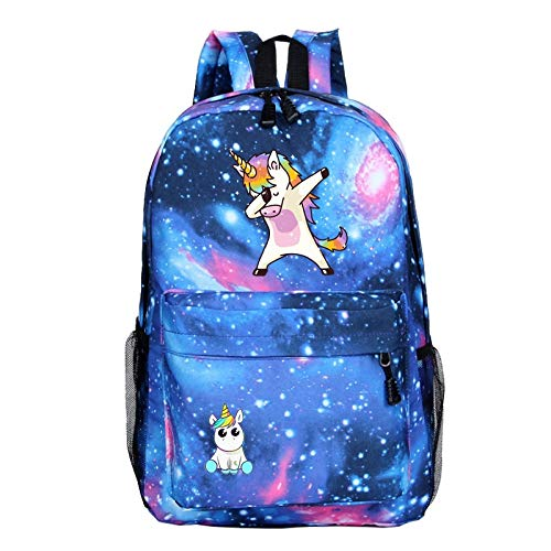 Kinder-sky Blue Camouflage (QYYDSB Kinder Schultaschen Jungen Rucksack Einhorn Laptop Rucksack Reisetasche Kinder Tasche Für Mädchen Sky Blue)