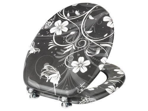 Preisvergleich Produktbild Klodeckel White Flowers