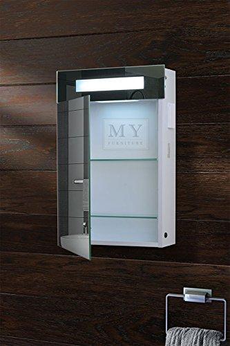 Beleuchteter Spiegelschrank mit Bewegungssensor – 40 cm - 2