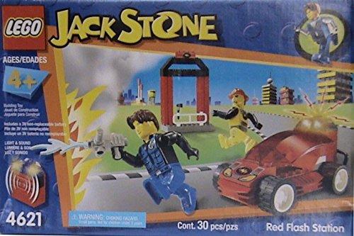 LEGO 4621 - Jack Stone Feuerwehrauto und Feuerwehrmann von LEGO Kinderland