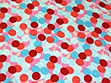 Minerva Crafts Layered Spots Print Seidiger Satin Kleid