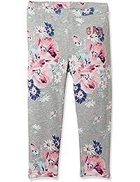 Gap Girls Floral logo soft terry leggings