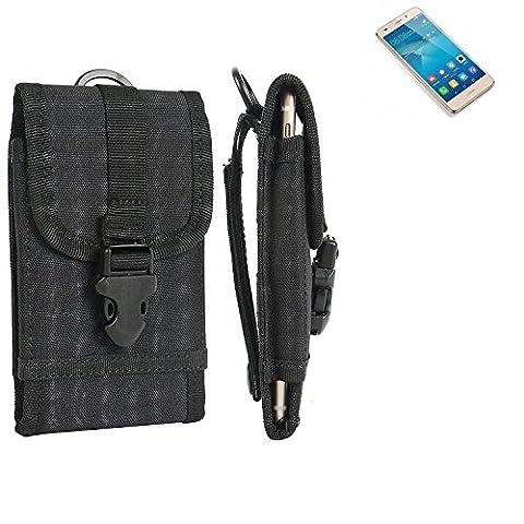Pochette ceinture / étui pour Huawei GT3, noir   étui de téléphone Housse de protection sac - K-S-Trade