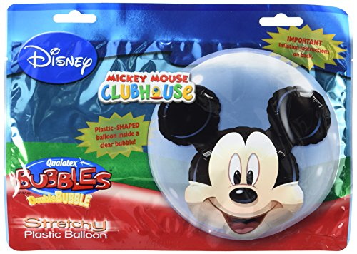 Qualatex 70 025,3 cm Double Bubble Disney Mickey Mouse Latex Balloon, 61 cm