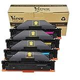V4INK 4 Pack Toner kompatibel zu HP Color Laserjet Pro M452dn M452nw M452dw MFP-M477fdn MFP-M477fdw MFP-M477fnw HP CF410X CF411X CF412X CF413X Serien Schwarz Cyan Magenta Gelb
