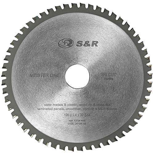 S&R Disque Lame de scie circulaire 190 x 30 x...