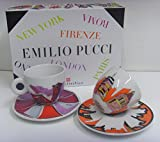 illy art collection Cappuccinotassen EMILIO PUCCI 2er Set