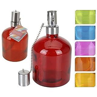 Energiesparende Glas dekorativ für Öl 18x 10cm