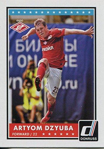 Donruss Fußball 2015Boden Karte # 86Artjom Sergejewitsch dsjuba