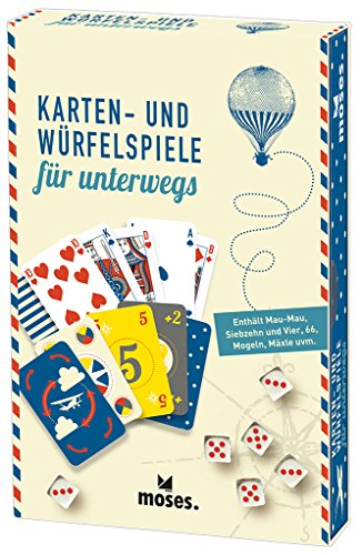 moses-81716-Fernweh-Karten-und-Wrfelspiele-fr-unterwegs-15-Spiele-inklusiv-Mau-Mau-Siebzehn-und-vier-Mogeln-und-Mxle