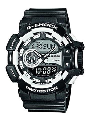 Casio G-Shock – Men's Analogue/Digital Watch with Resin Strap – GA-400-1AER