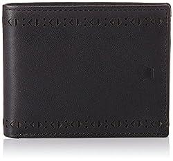 Louis Philippe Black Mens Wallet (LPU8213014)