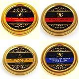 Le Quatuor Classique de Caviar 4x30g. Livraison gratuite