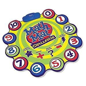 Learning Resources Game Juego de sumas y restas Math Mat Challenge, Color (LER0047)