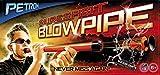 BestSaller Petron SURESHOT Blow Pipe Kinder Blasrohr mit 3 Pfeilen, orange/schwarz (1 Set)