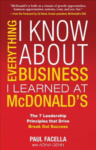 Everything I Know About Business I Learned at McDonalds (English ...