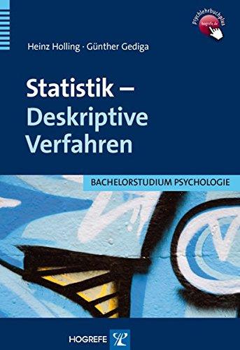 Statistik - Deskriptive Verfahren (Bachelorstudium Psychologie)