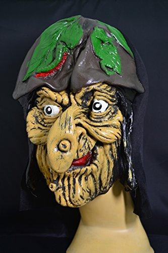 Preisvergleich Produktbild Smartfox Halloween Latex Maske - Pflanzenhut