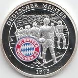 Medaille FC Bayern München Polierte Platte Deutscher Meister 1973 (Münzen für Sammler)