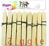 #5: Ziggle Ice Cream Sticks 400 Pcs Wooden Ice Cream Sticks Popsicle Sticks (Pack of 400 Pcs )