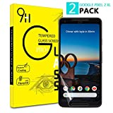 Google Pixel 2XL Schutzfolie,AAJO [2Stück] TPU Not Glass Displayschutzfolie[3D Curved][Full Coverage][Anti-Kratzer] Screen Protector Ultra HD Schutzglas für Google Pixel 2XL