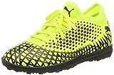 PUMA Future 4.4 TT Jr, Botas de fútbol Unisex Niños, Yellow Alert Black, 31 EU