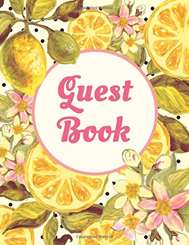 guest-book-extra-large-guest-book-100-pages-85-x-11-pink-yellow-fruit-and-flowers-watercolor-design