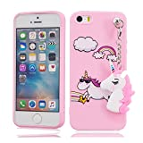 EarthNanLiuPowerTu iPhone 5 5s Se 5C 5G Coque, Design Mignon 3D Brillant Slim...