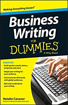 Business Writing For Dummies by [Canavor, Natalie]