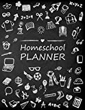 Homeschool Planner: Student Learning Homeschooling Parents Family Record Planner Lesson Planner Book Organizer Journal Study & Teaching Notebook: Volume 1 (Lesson Plan and Record Log Book)