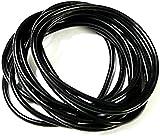 Set Of 10 Black Gummy / Jelly Bands Bracelets