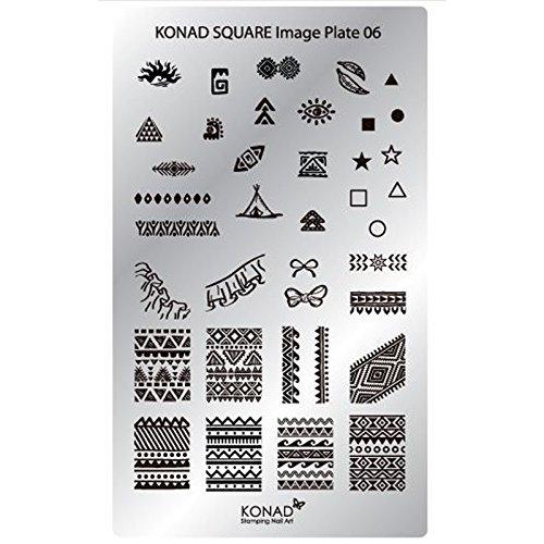 Konad plaque rectangulaire 06