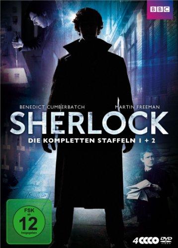 4 Sherlock-serie (Sherlock - Die kompletten Staffeln 1 + 2 [4 DVDs])