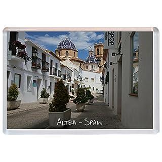 Altea - Spain - Costa Blanca - Jumbo Fridge Magnet Gift/Souvenir/Present