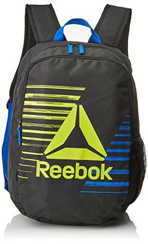 Reebok Kids Foundation Backpack Mochila, Unisex Niños, Negro, Talla Única