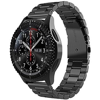 Simpeak Bracelet Compatible avec Samsung Galaxy Watch 42mm(SM-R810), Bracelet de Remplacement en Acier Inoxydable de première qualité Compatible avec ...