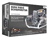 FRANZIS | BMW R 90 S Boxermotor | Motor Bausatz ab 14 Jahren | 200-Teile - transparentes, voll...