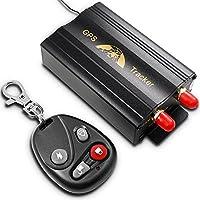 AFUNTA dell'automobile del veicolo dell'inseguitore 103B GPS con telecomando GSM Slot per scheda SD di allarme antifurto Realtime Spy Tracker GPS103B TK103B GSM GPRS sistema GPS dispositivo di localizzazione