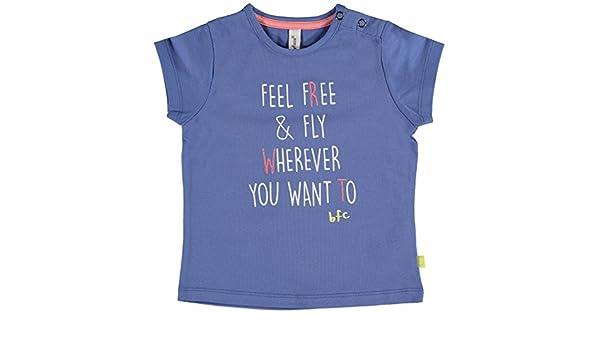 39dd1ef12841b Babyface - T-Shirt - Fille Bleu Bleu Ciel - Bleu - 4 Ans  Amazon.fr   Vêtements et accessoires