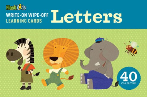 Write-On Wipe-Off Learning Cards: Letters (Write on Wipe Off Learn/Cards)