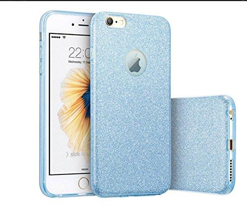 KSHOP TPU Silikon Hülle für iphone SE/iphone 5 /iphone 5s Handyhülle Schale Etui Protective Case Cover dünn mit Drucken Muster - indisches Heilige Blume Mandala Schwarz blau