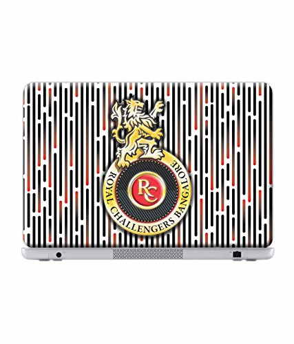 Macmerise Licensed Royal Challengers Bangalore RCB Laptop Skins For Dell Inspiron 15 - 5000 Series