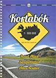 Iceland Road Atlas, with Town Plans, 2015-2016 2015