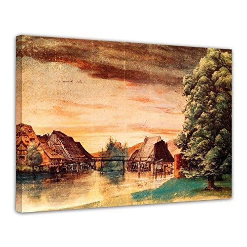 Bilderdepot24 Kunstdruck - Alte Meister - Albrecht Dürer - Die Weidenmühle - 80x60cm einteilig -...