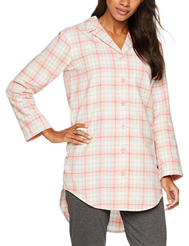 Iris & Lilly Women's Cotton Checkered Lounge Pyjama Top - 51o TRS6laL - Iris & Lilly Women's Cotton Checkered Lounge Pyjama Top