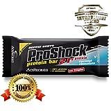 Anderson Proshock - 24 Barrette Proteiche da 60 g con 21g di Proteine Whey e 8 Vitamine - Gusto Cocco e Cioccolato - Confezione Grande Formato Risparmio